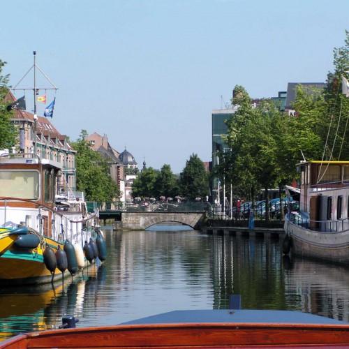 Rondvaart op de Binnendijle in Mechelen - Kraanbrug