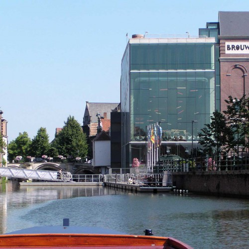 Rondvaart op de Binnendijle in Mechelen - Haverwerf en Lamot