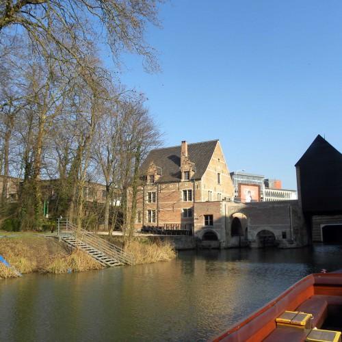 Rondvaart op de Binnendijle in Mechelen en wandelzoektocht