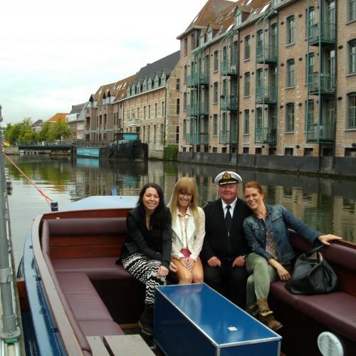 Rondvaart op de Binnendijle in Mechelen - K3