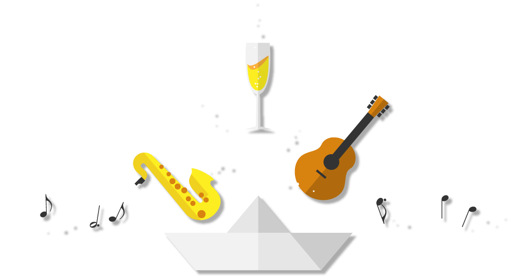 Malinska muziekboot