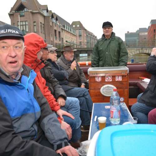 Bootjevaren oep ze Mèchels - Foto: Paul Van Welden