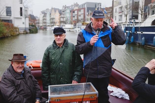 Ludiek bootje varen in het Mechels dialect - Foto: Patrick Hattori