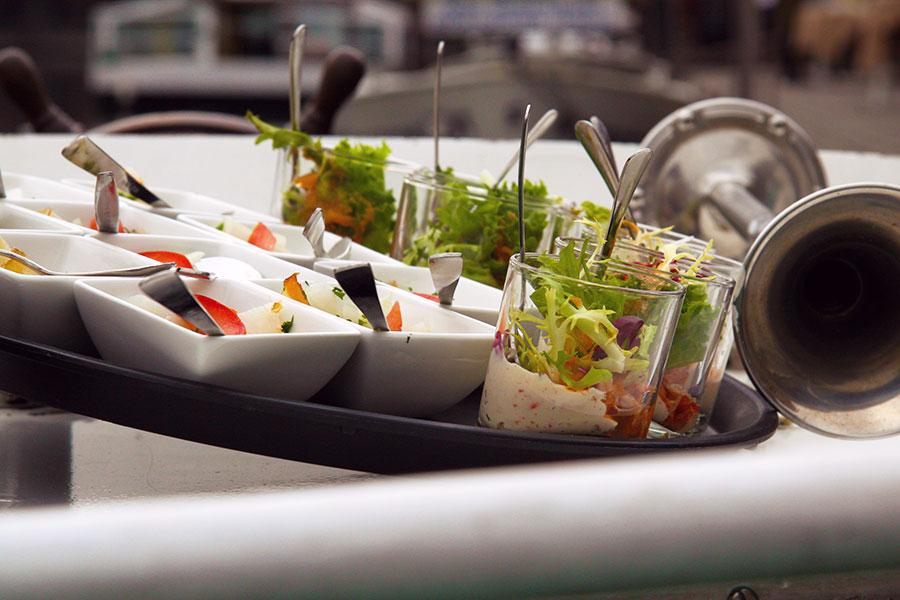 Aperitiefhapjes op de Culinaire Boot - Malinska