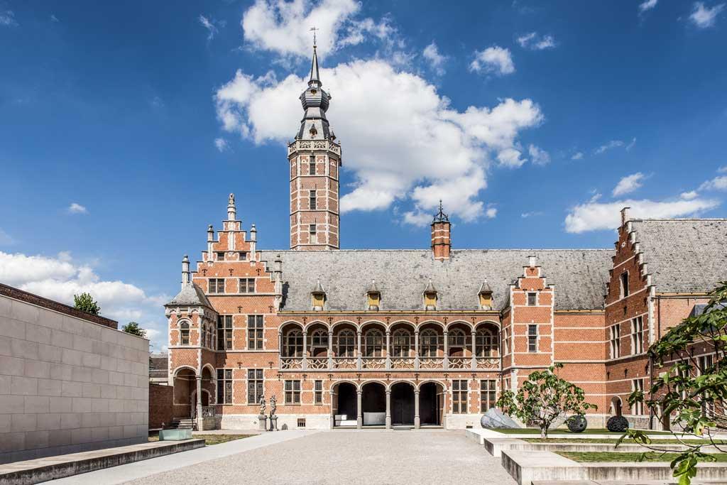 Hof van Busleyden - bootjes in Mechelen