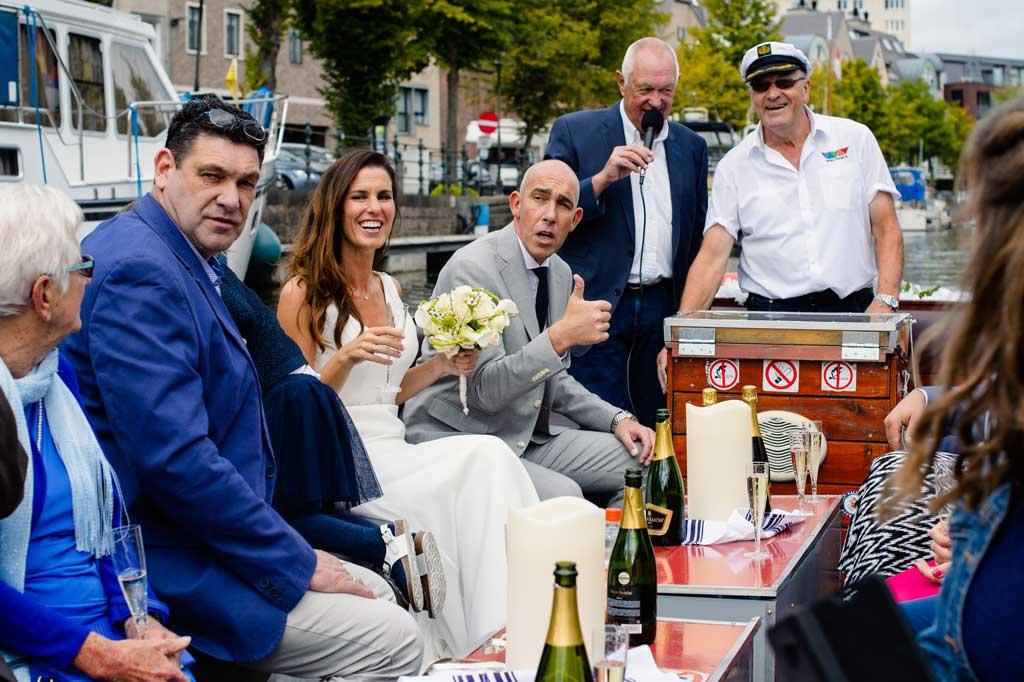 Het Huwelijksbootje: anekdotes op een bootje in Mechelen