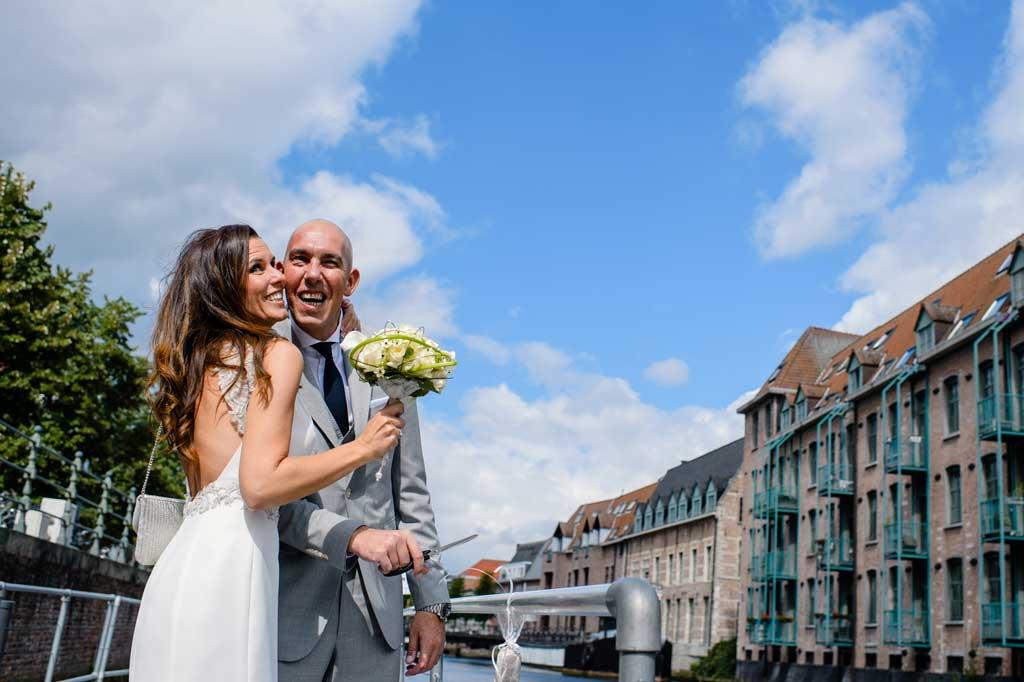 Het Huwelijksbootje: liefde langs de Dijle door Mechelen