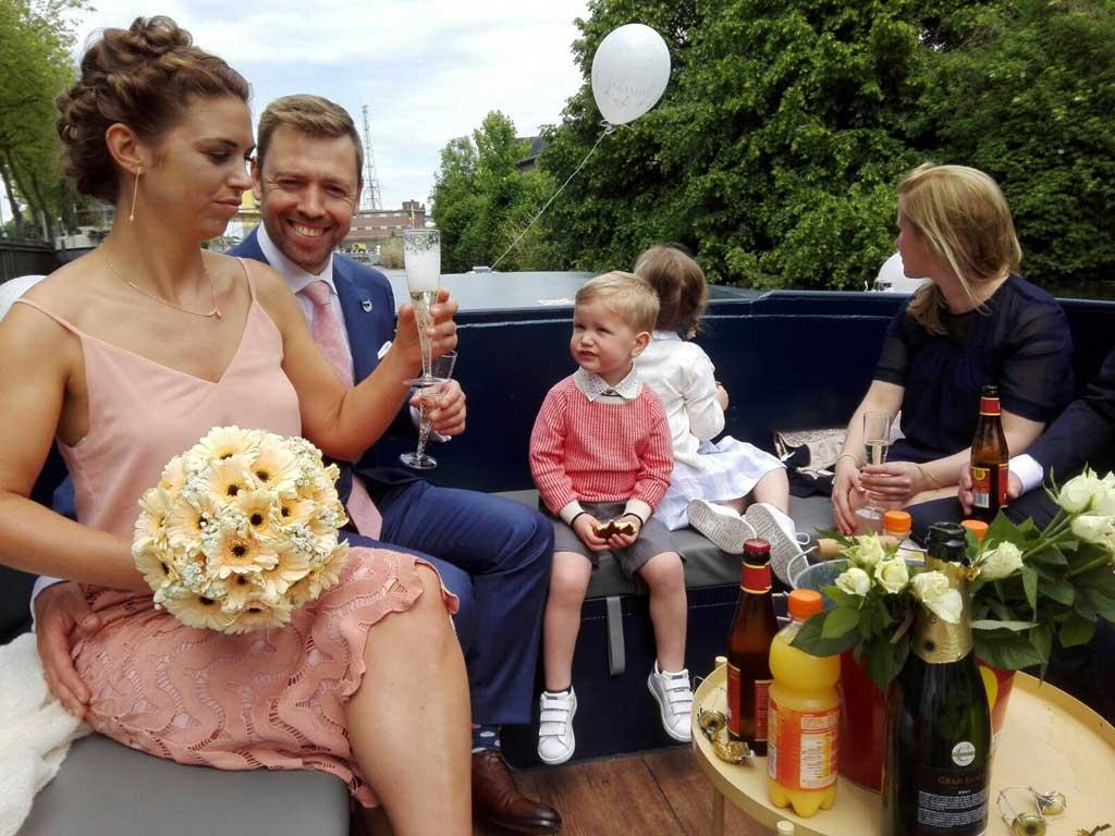 Het Huwelijksbootje: klinken op de liefde in Mechelen