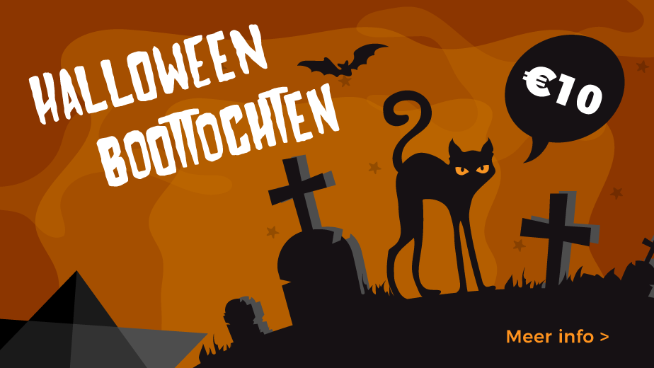 Halloween op de Dijle