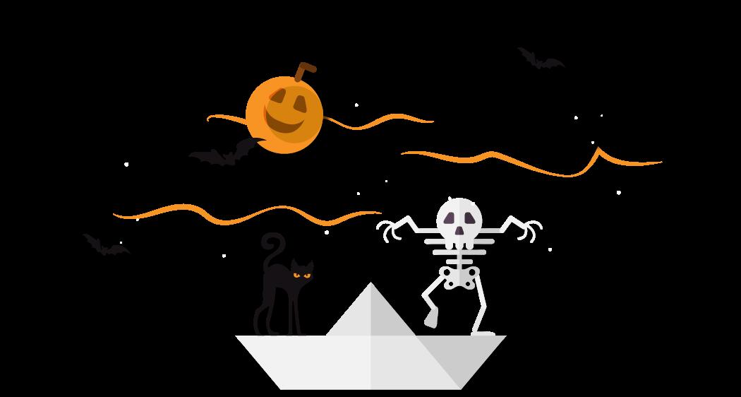 Malinska: halloween-boottochten