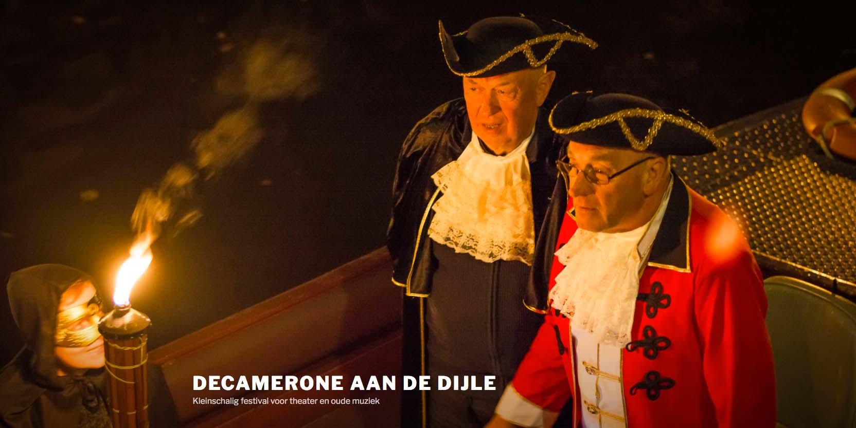 Decamerone aan de Dijle — Bootjes in Mechelen