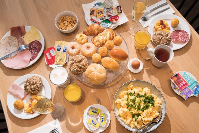 Holiday Inn Express Mechelen ontbijt